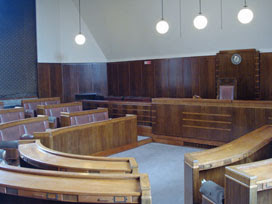 Hornsey Town Hall - council chamber