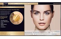 Simulador virtual de maquillaje de Estée Lauder