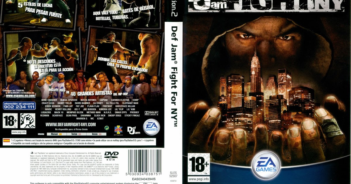 Def Jam: Fight For NY: The Takeover - Juegos psp 1 link