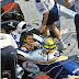 Gesigneerde foto Ayrton Senna