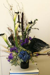 Halloween Flowers, by Visser's Florist