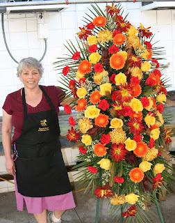 giant sympathy flowers