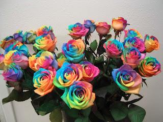 same-sex wedding flowers