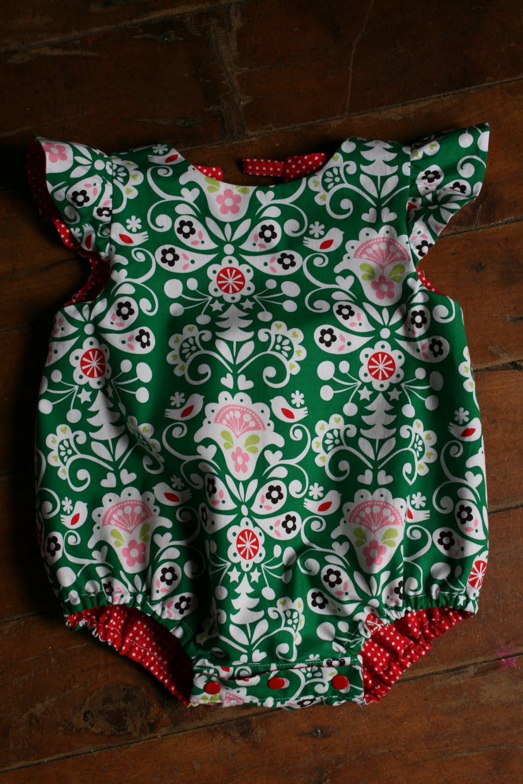 Amelie And Atticus Sis Boom Baby Romper