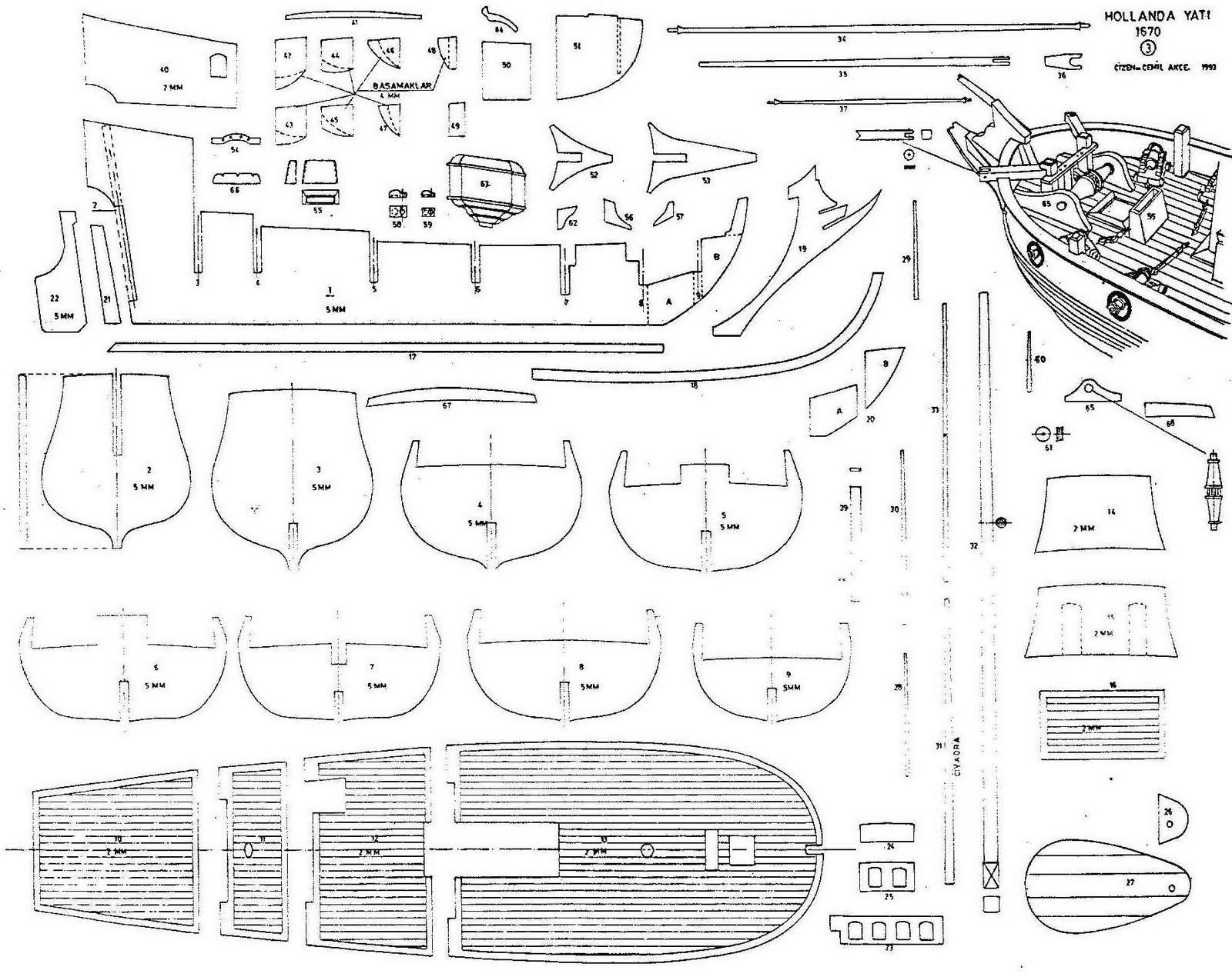 Quinze marins sur le bahut du mort plan hollande yacht for Plan gratuit