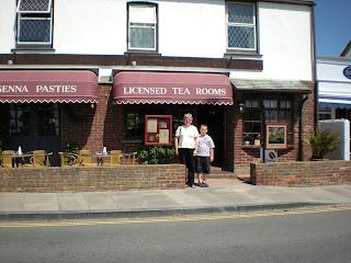 Pengenna Pasties Tea Room Tintagel