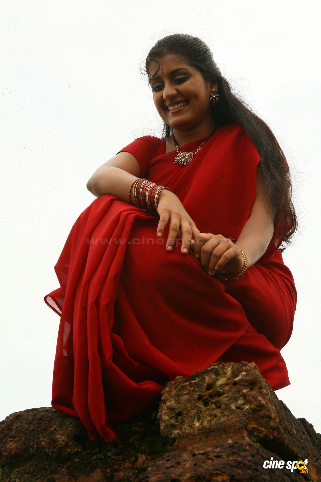 Actress Rare Navel Malayalam Actress Sarayu Hot Navel Show-1710