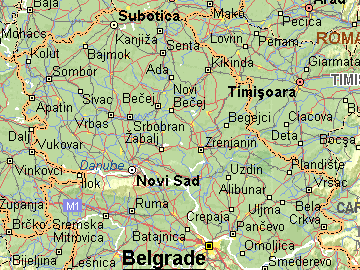 karta vojvodine sa selima Per@ Travel: VOJVODINA karta vojvodine sa selima