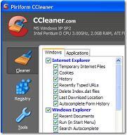 Limpiar el PC con la aplicación software Ccleaner