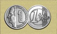 Una peseta de plata de ley