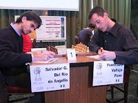 Vallejo contra Del Río en ajedrez
