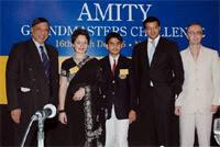 Inauguración del Reto de los Grandes Maestros de Ajedrez de Amity