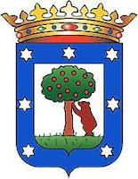 Escudo de Madrid en federaciones deportivas madrileñas
