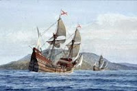 Barco velero con tesoro para invertir y financiar