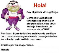 Materialized views en programación PLSQL - Chiste virus gallego