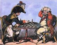 Partida de ajedrez entre Napoleón Bonaparte y el Mariscal Bertrand