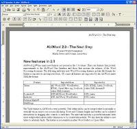 AbiWord - Procesador de textos gratuito en aplicaciones software gratis