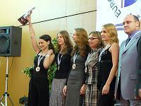 El equipo femenino de ajedrez de Rusia Campeón de Europa de Selecciones 2007