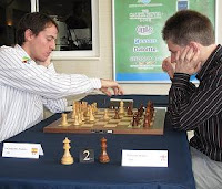 Partida de ajedrez Paco Vallejo vs Michael Adams en el VIII Gibtelecom Masters de ajedrez 2010