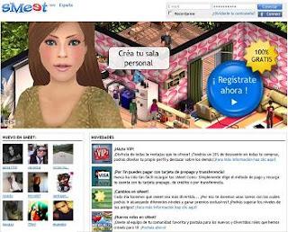 La comunidad 3D Smeet en contactos y encuentos
