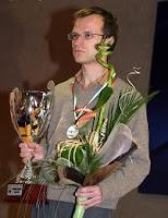 El ajedrecista Sergei Tiviakov Campeón de Europa de Ajedrez 2008