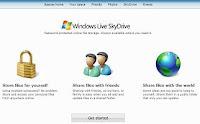 Aplicación online gratis Windows Live SkyDrive