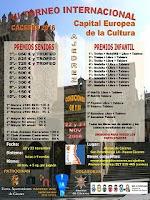 Cartel de la III Edición del Torneo Internacional de Ajedrez Cáceres 2016