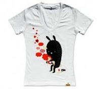 Camiseta para mjujer manga corta diseño Melon Kid