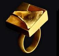 Sortija de oro de Anthony Caro - Joyería Grassy