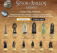 Colección de ajedrez El Señor de los Anillos