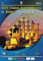Cartel de la XXVI edición del Torneo Internacional de Ajedrez