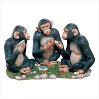 Monos jugando al poquer en preguntas y repuestas