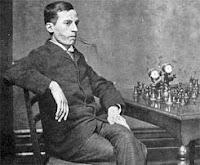 Harry Nelson Pillsbury, el genio del ajedrez a la ciega