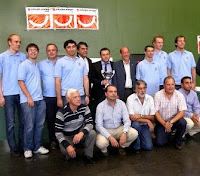 el Club de Ajedrez Escuela Internacional Kasparov Marcote Campeón de España de Clubes de Ajedrez División de Honor 2010