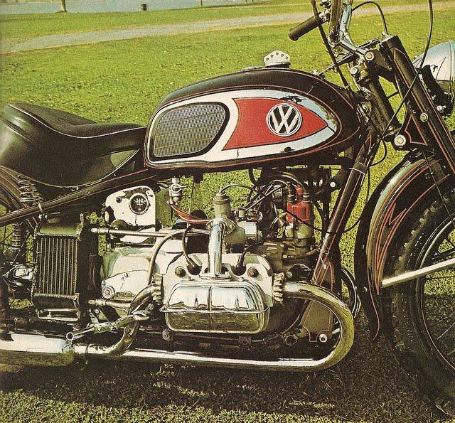 Von Dutch 1948 Harley Davidson Xa Vw