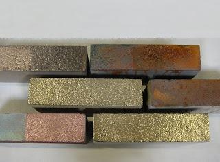 verometal beschichtung mit echtmetall zierklinker mit einer schicht aus metall statt glasur. Black Bedroom Furniture Sets. Home Design Ideas