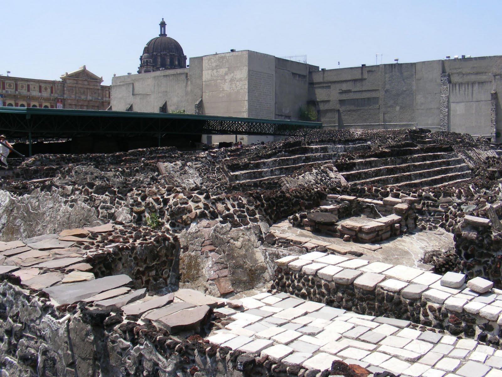 Discovering the Aztec ruins | Ruins of Tenochtitlan ...  |Tenochtitlan Ruins