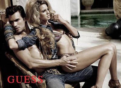 Новая кампания Guess Jeans: лето будет жарким.