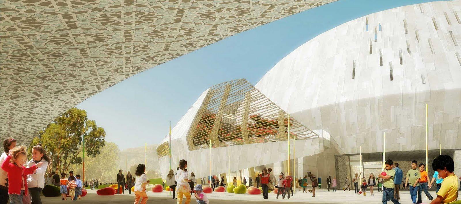 Children S Discover Centre By Henning Larsen Architects
