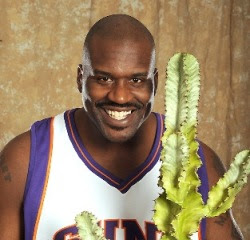 Shaq Dances With The Jabberwockees At The NBA All Star Game