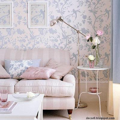 La delicadeza del estilo rom ntico for Living estilo romantico