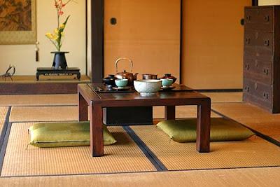 Colores y complementos en la decoracion zen - Mesas japonesas ...