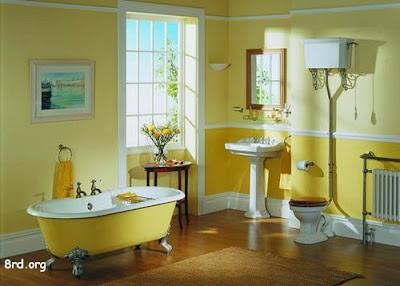 El color en los cuartos de ba o - Sanitarios de colores ...