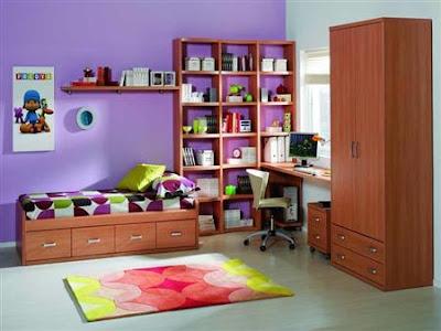 Colores fuertes o intensos para pintar las paredes - Combinacion colores paredes ...