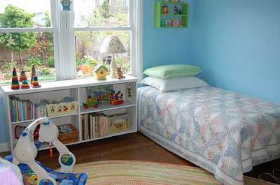 Los colores para el cuarto de los ni os for Dormitorio nino 9 anos