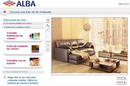 Latex interiores alba colores preparados - Simulador pintura paredes fotos propias ...
