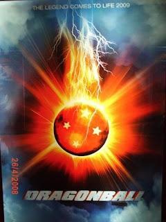 Dragonball Teaser Poster