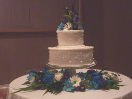 Jenae's Wedding Cake