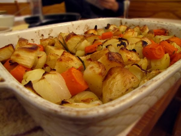 Bon App 233 Tit Roasted Potatoes Carrots Amp Onions