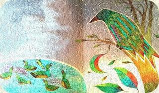 นกแสงตะวันมองความเป็นไปบนท้องทุ่งกว้างแห่งนี้ด้วยความเศร้าใจ